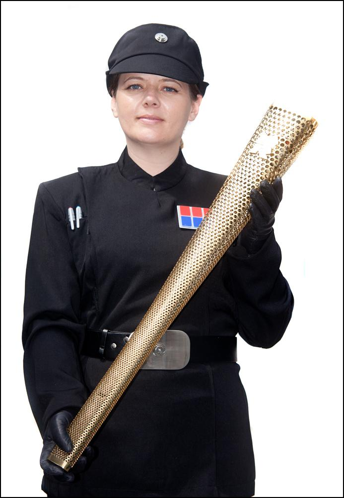 Imperial Officer With Torch