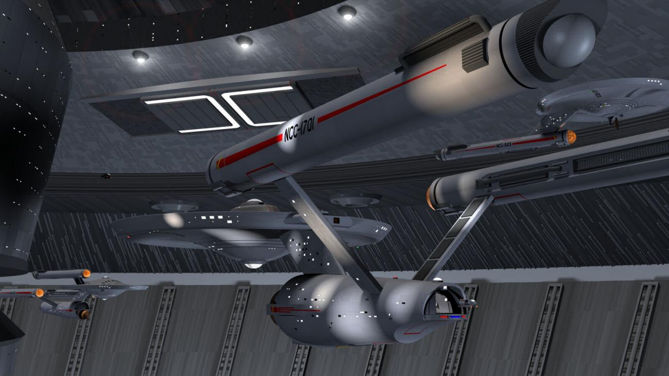 Classic Enterprise in Starbase