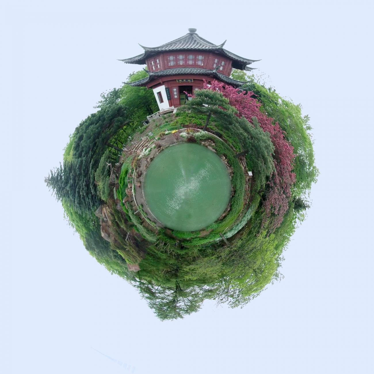 Little Planet: Chinese Garden