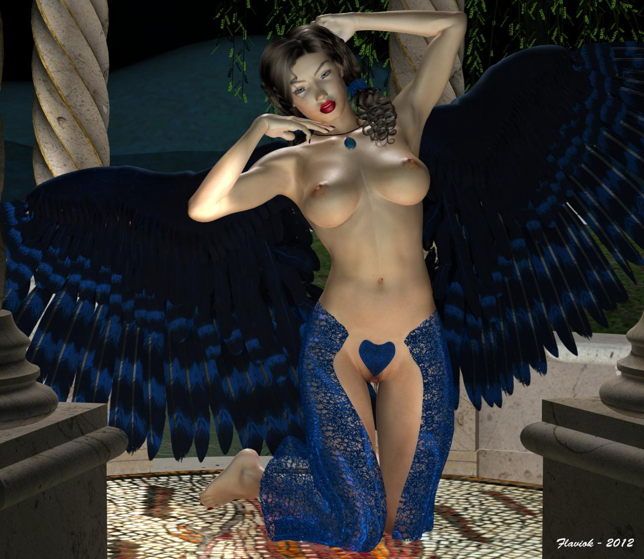 BLUE ANGEL FOR LORY AND THE BOYS(TEMPESTA3D)