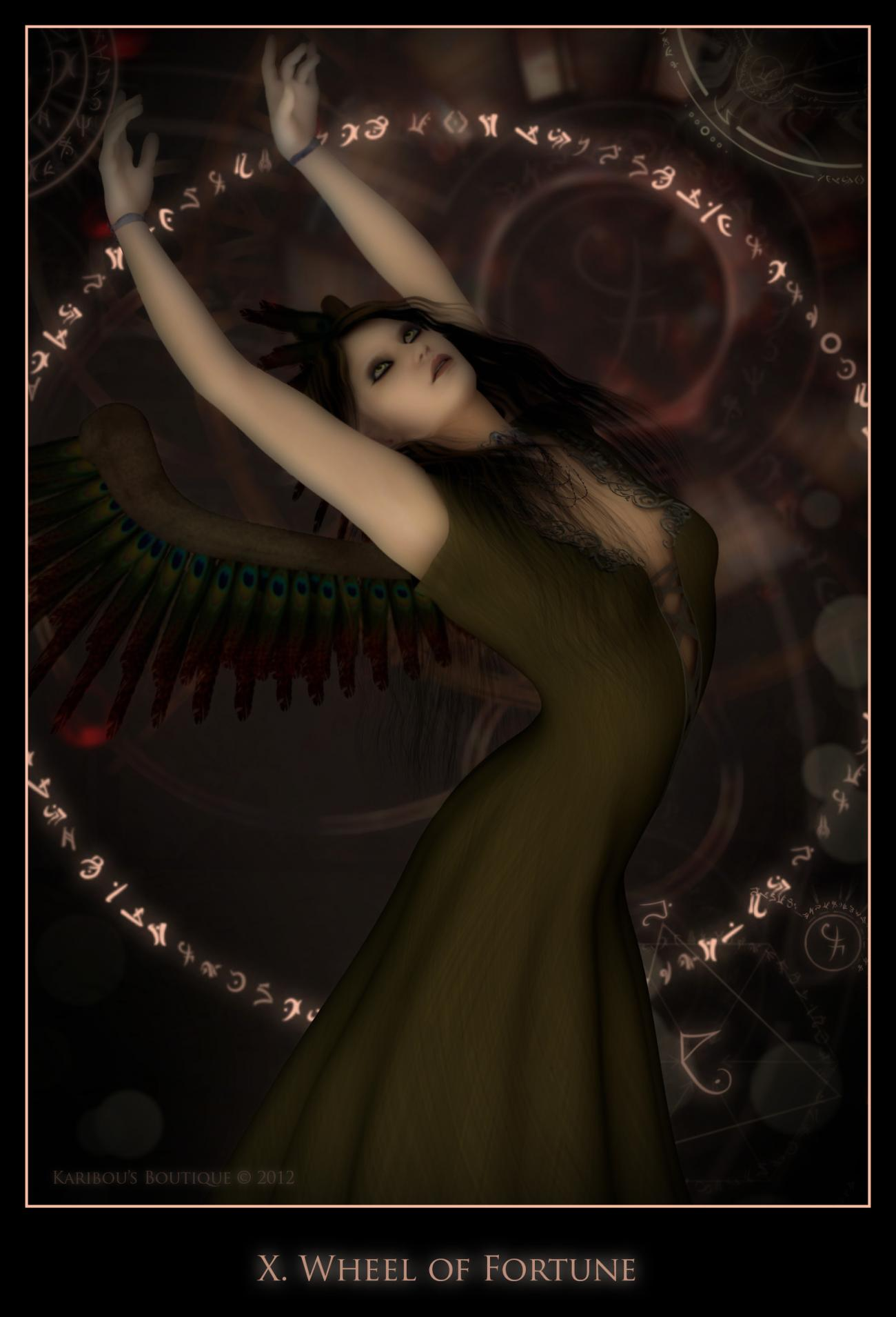 Wheel of Fortune by karibousboutique