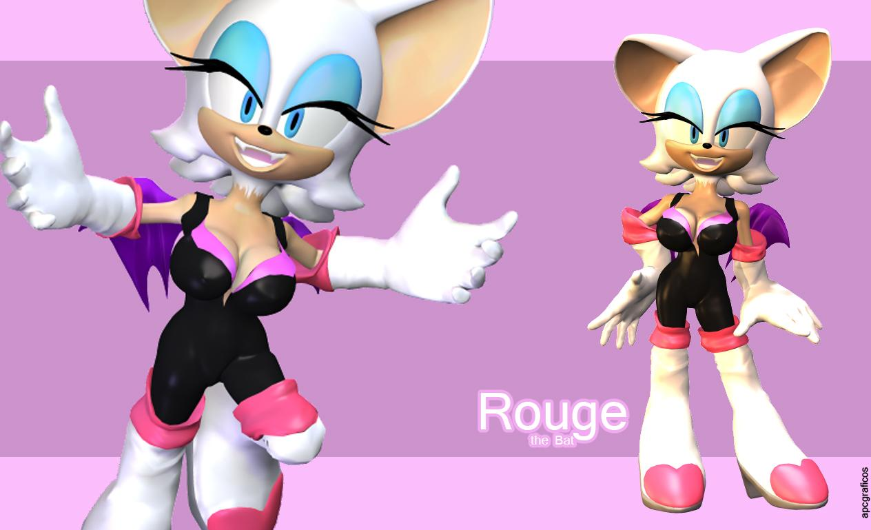 Rouge the Bat by apcgraficos