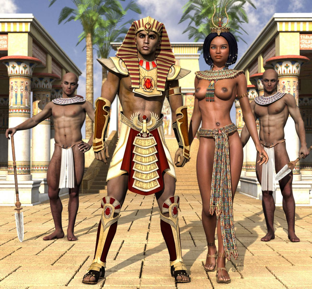 At Pharaoh's Court
