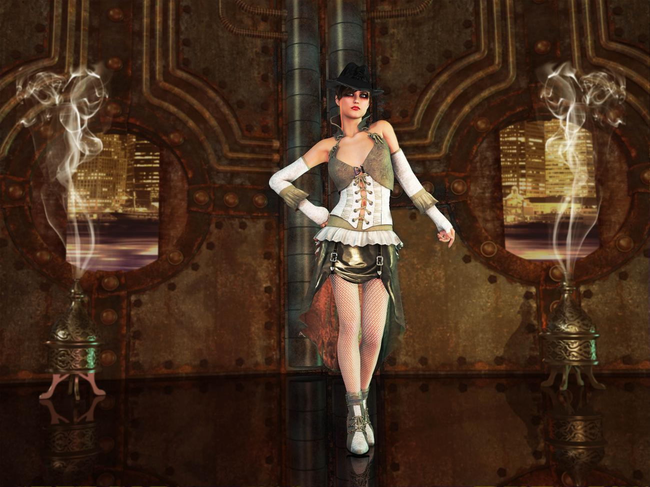 Steam Punk Style - For all born in August