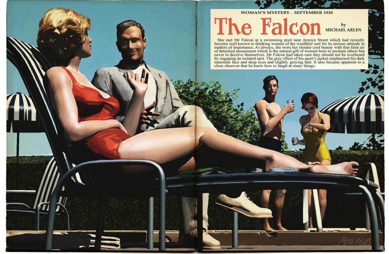 Faux Splash Page The Falcon