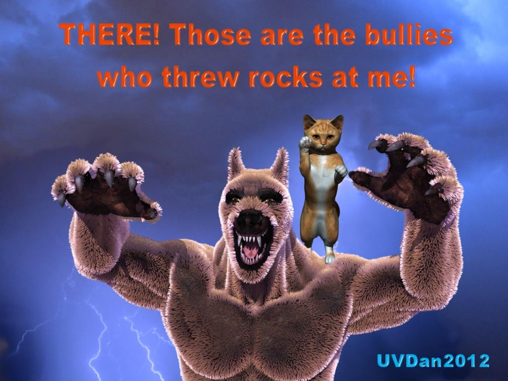 THERE!  Those are the Bullies by UVDan