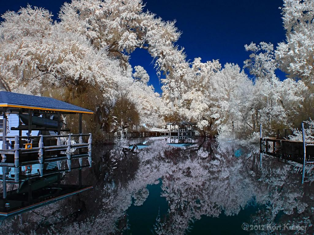 Canal Reflections - IR