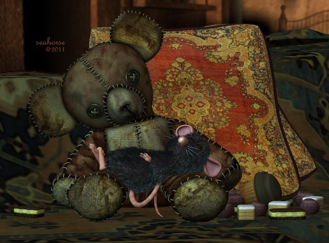 Deady Teddy & Resting Ratty
