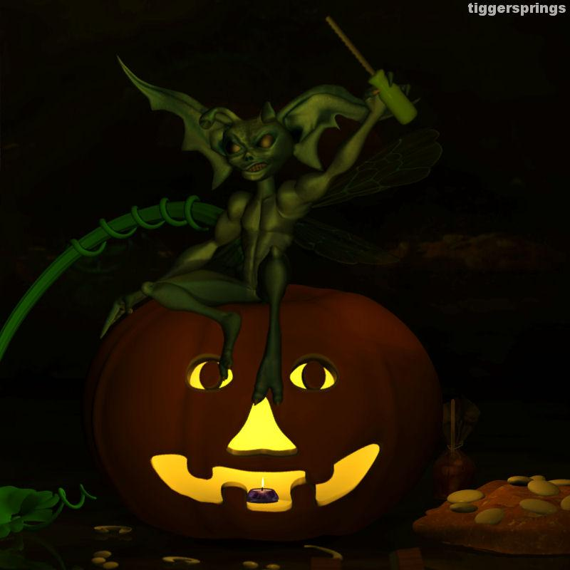 Pumpkin Carving Pixie