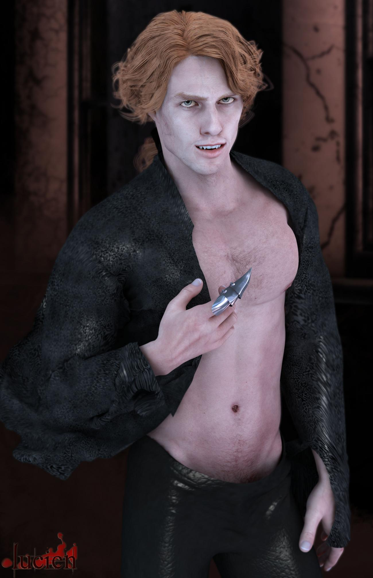 Lucien ... a new vampire in town ...