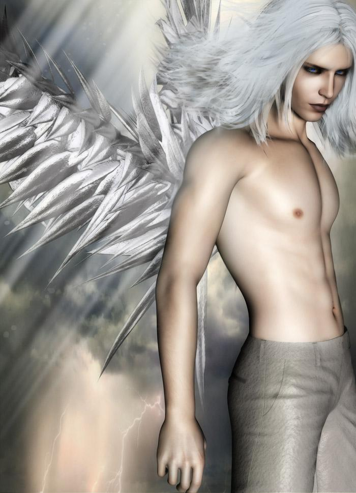 Silver Angel - for Lajsis