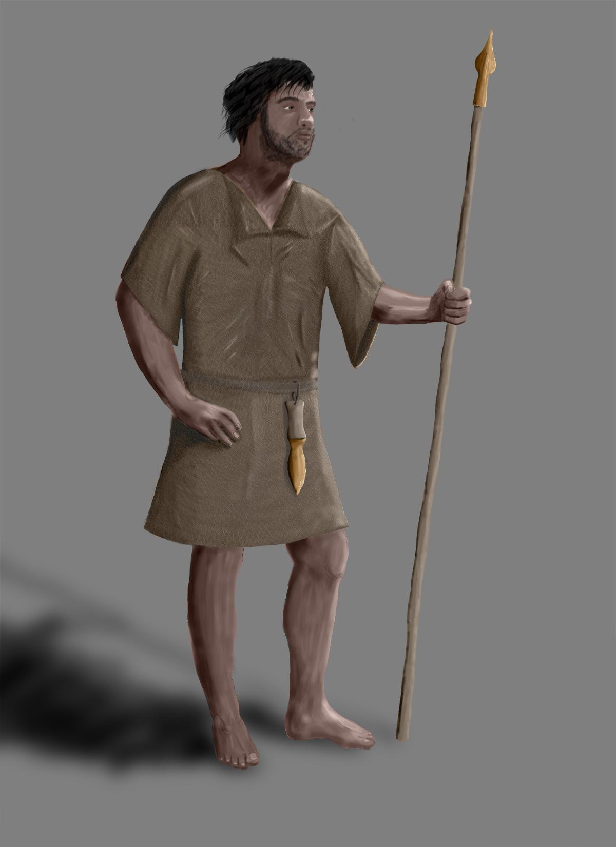 Bronze Age Warrior - Reconstruction