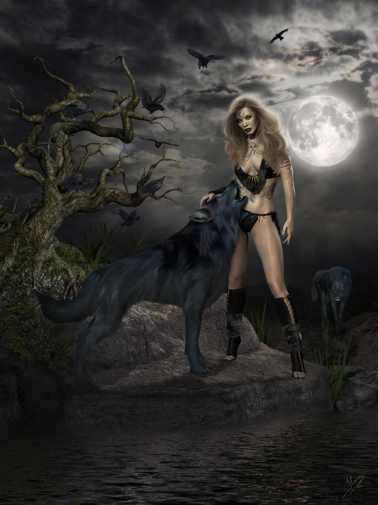 Howling by ilona