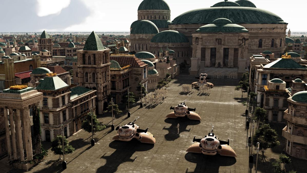 a view of Naboo