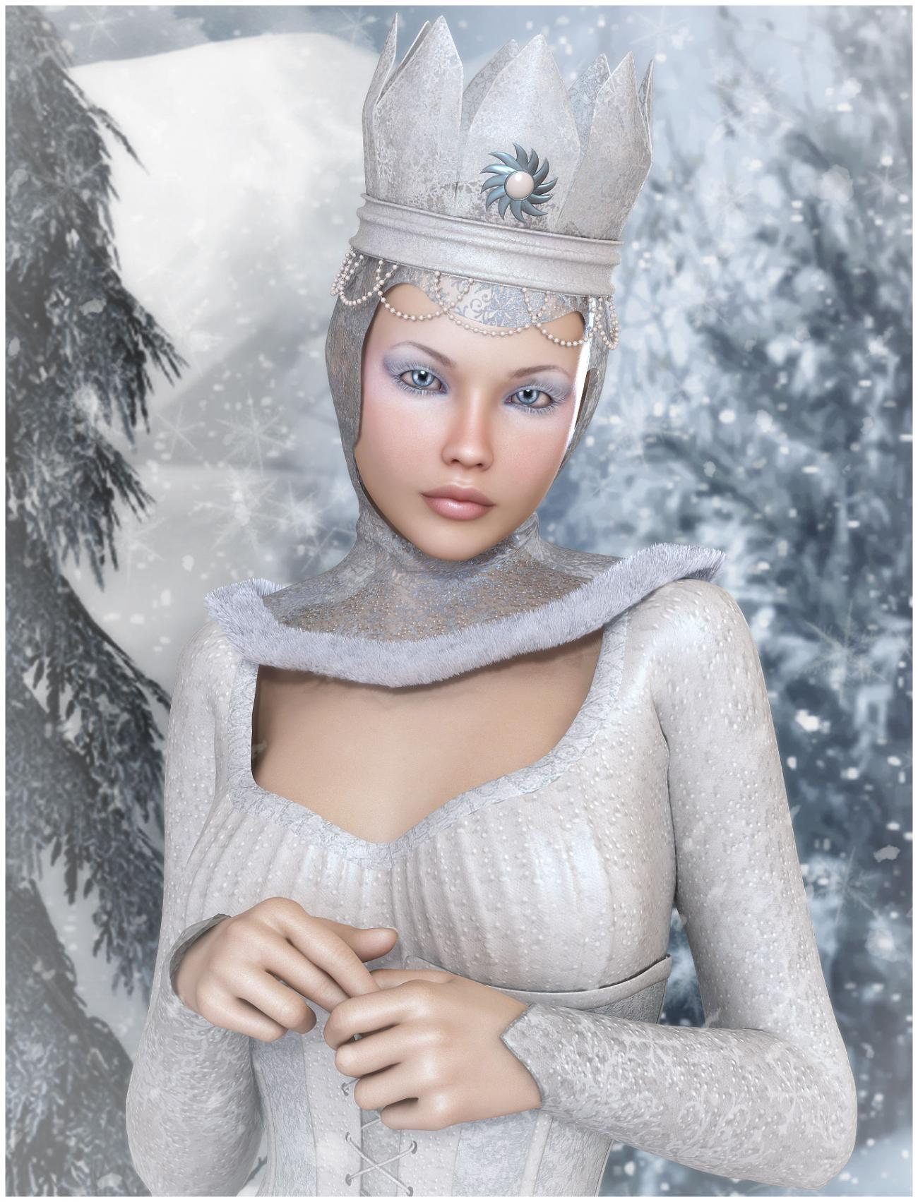 Chrystalia the Snow Queen by Jessaii
