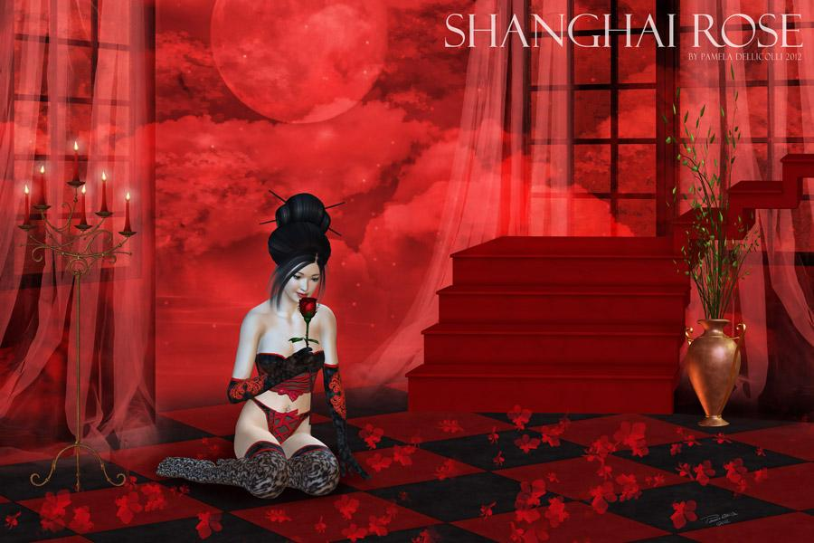 Shanghai Rose (for Syltermermaid)