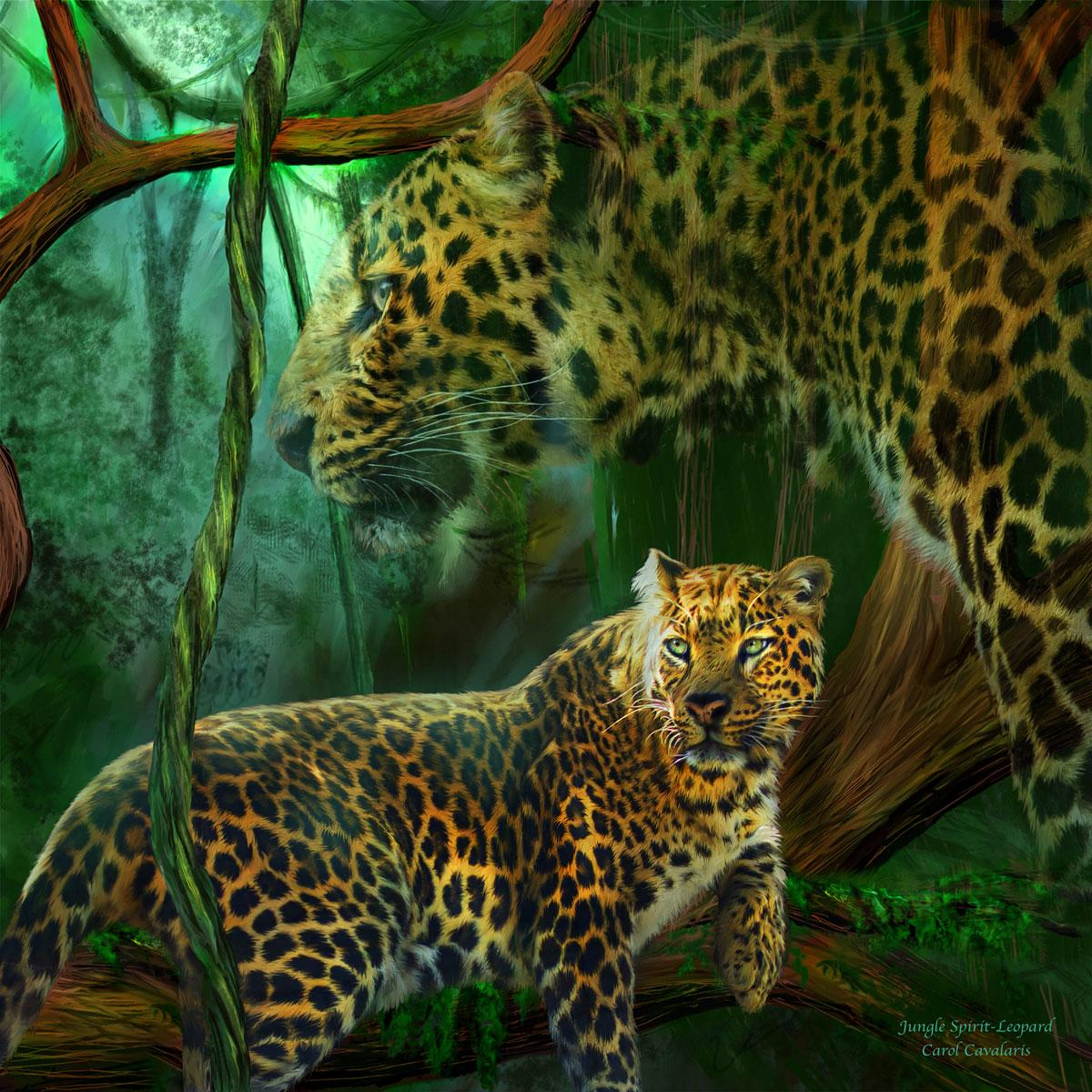Jungle Spirit - Leopard