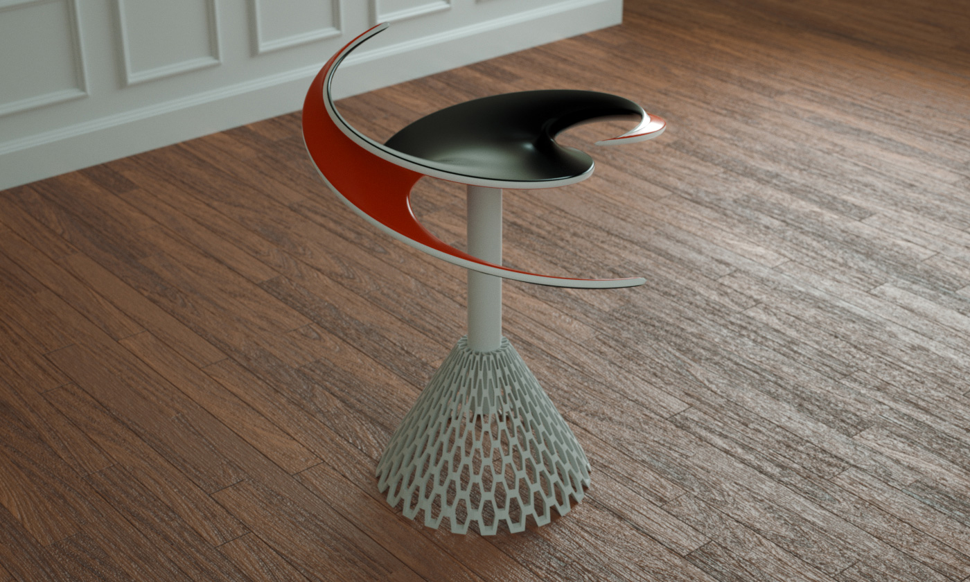 Helicoid Table
