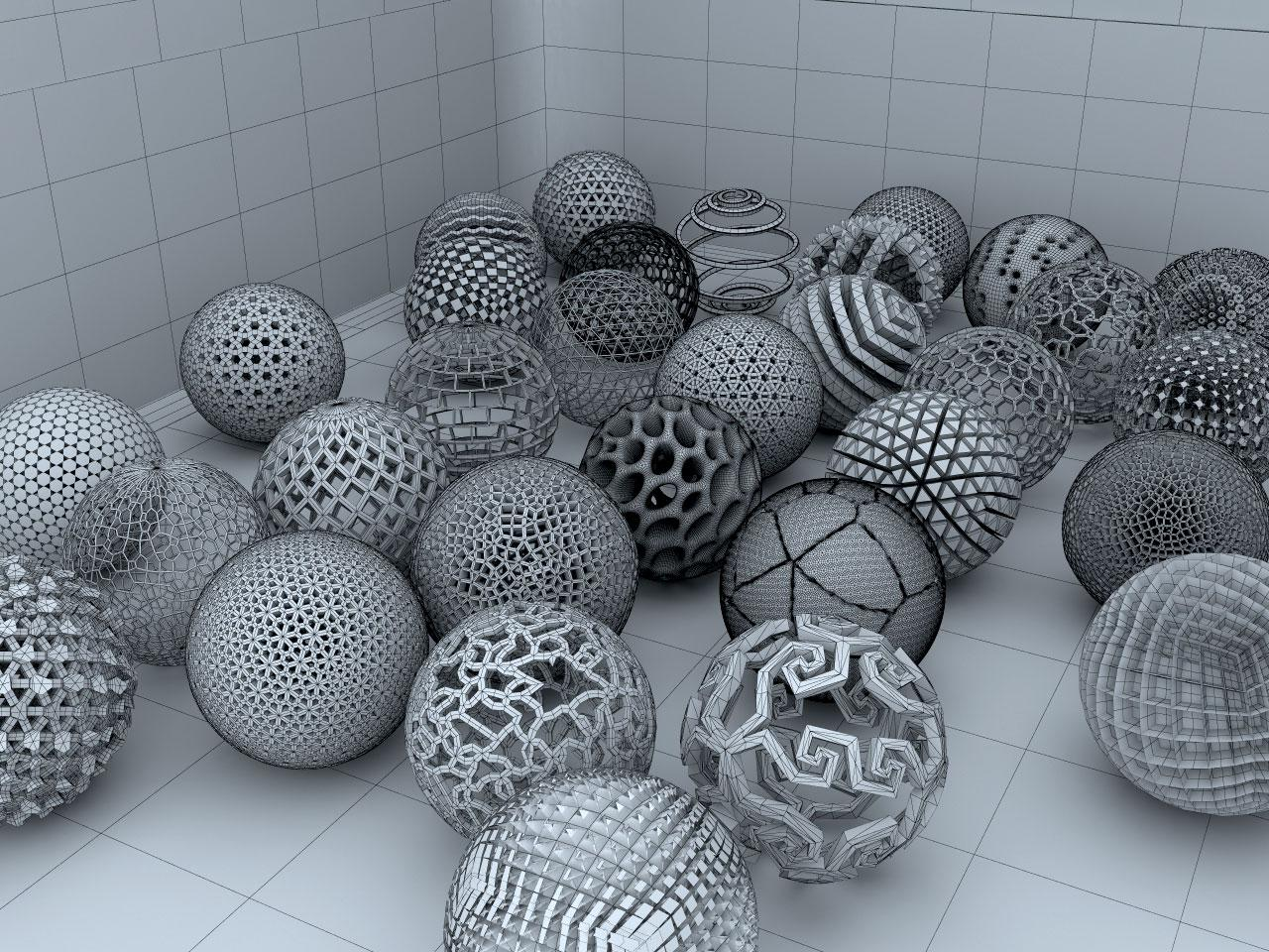 Spherical Anthology (Wire Version)