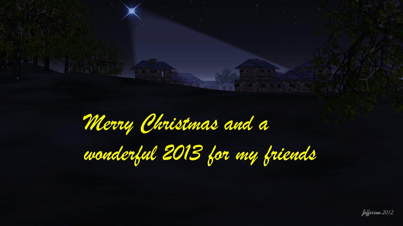 To my friends and visitors