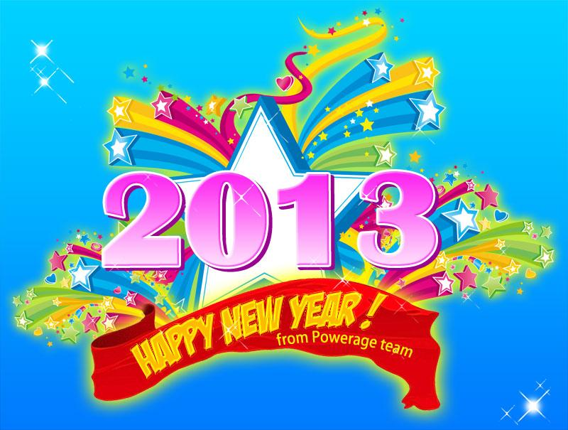 Happy new year !! by powerage
