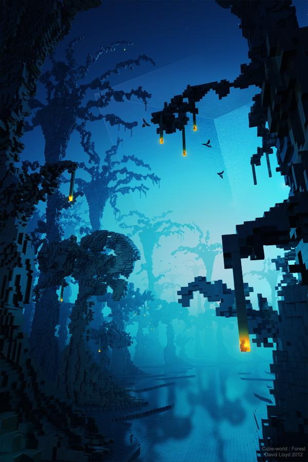 Cube World : Forest