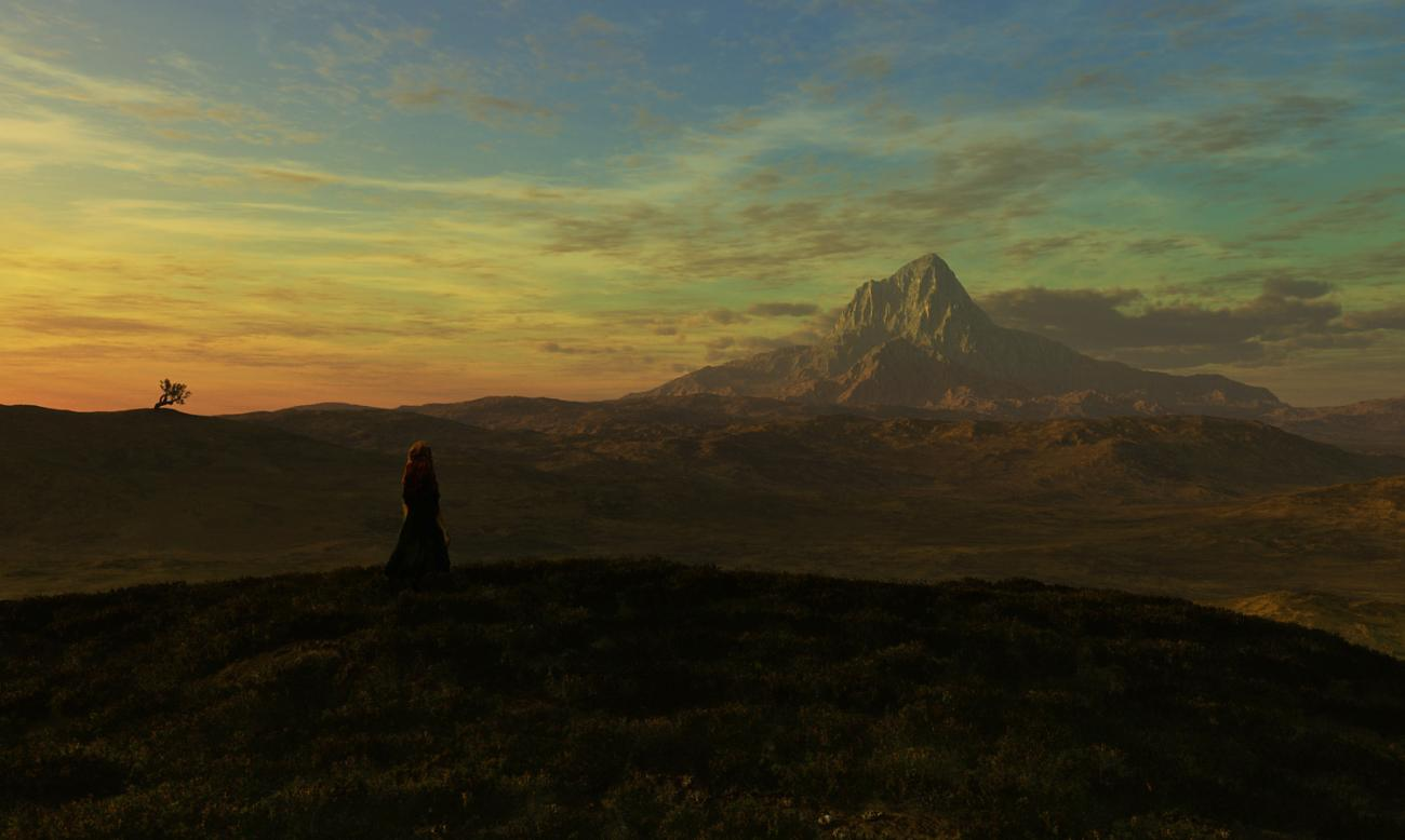 Heather and the Lonely Mountain