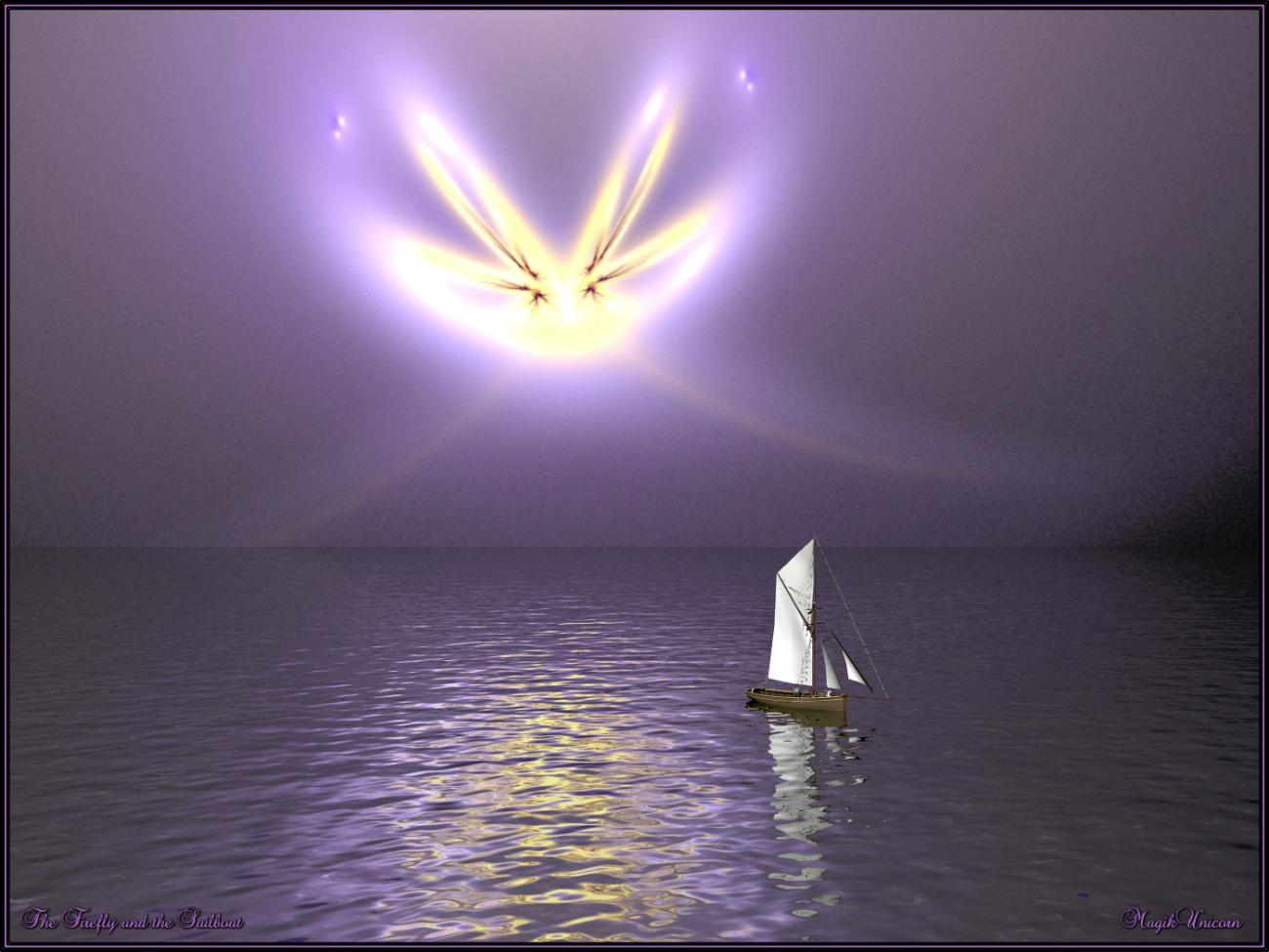 The Firefly and the Sailboat