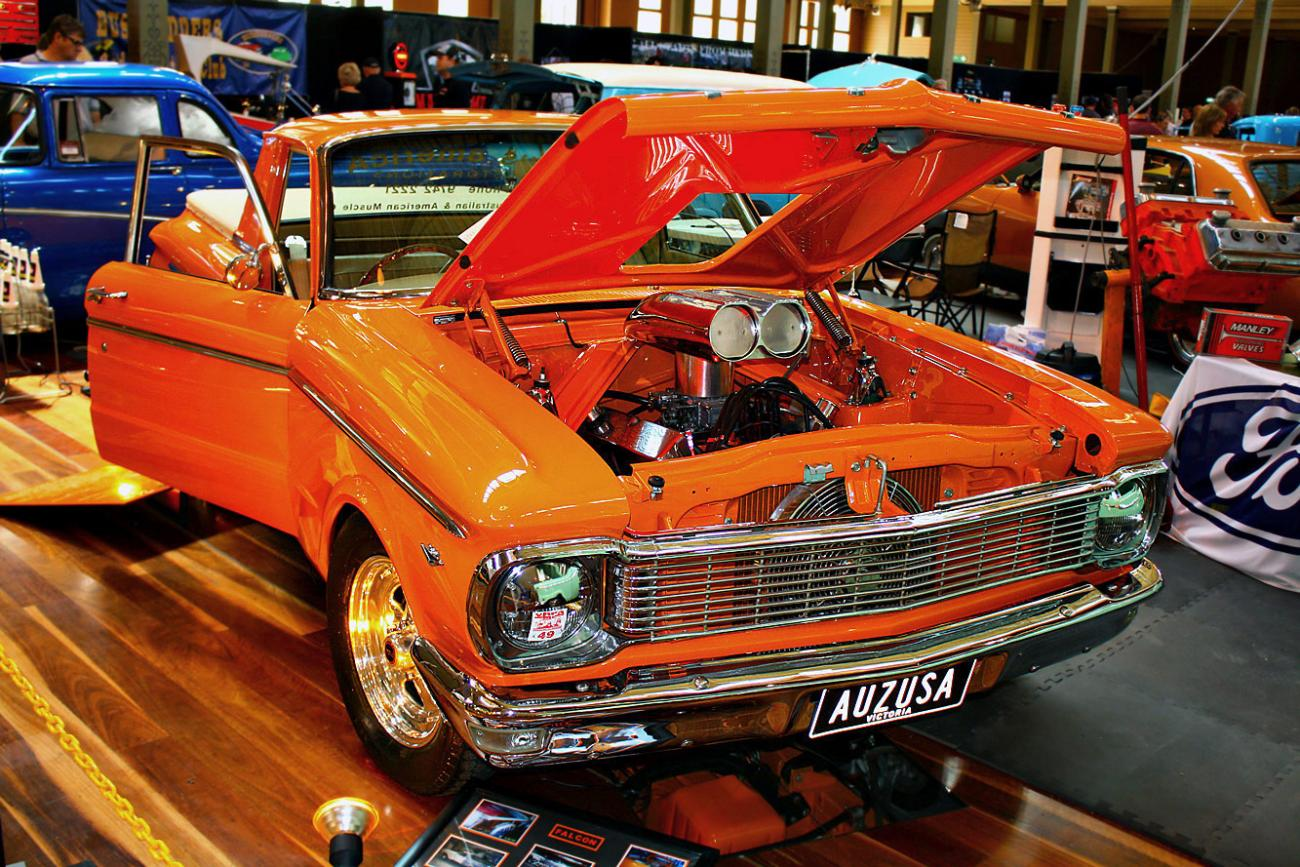 Ford Falcon XP Ute.