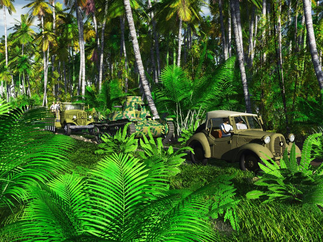 Jungle Convoy 1942:  for Tryphon