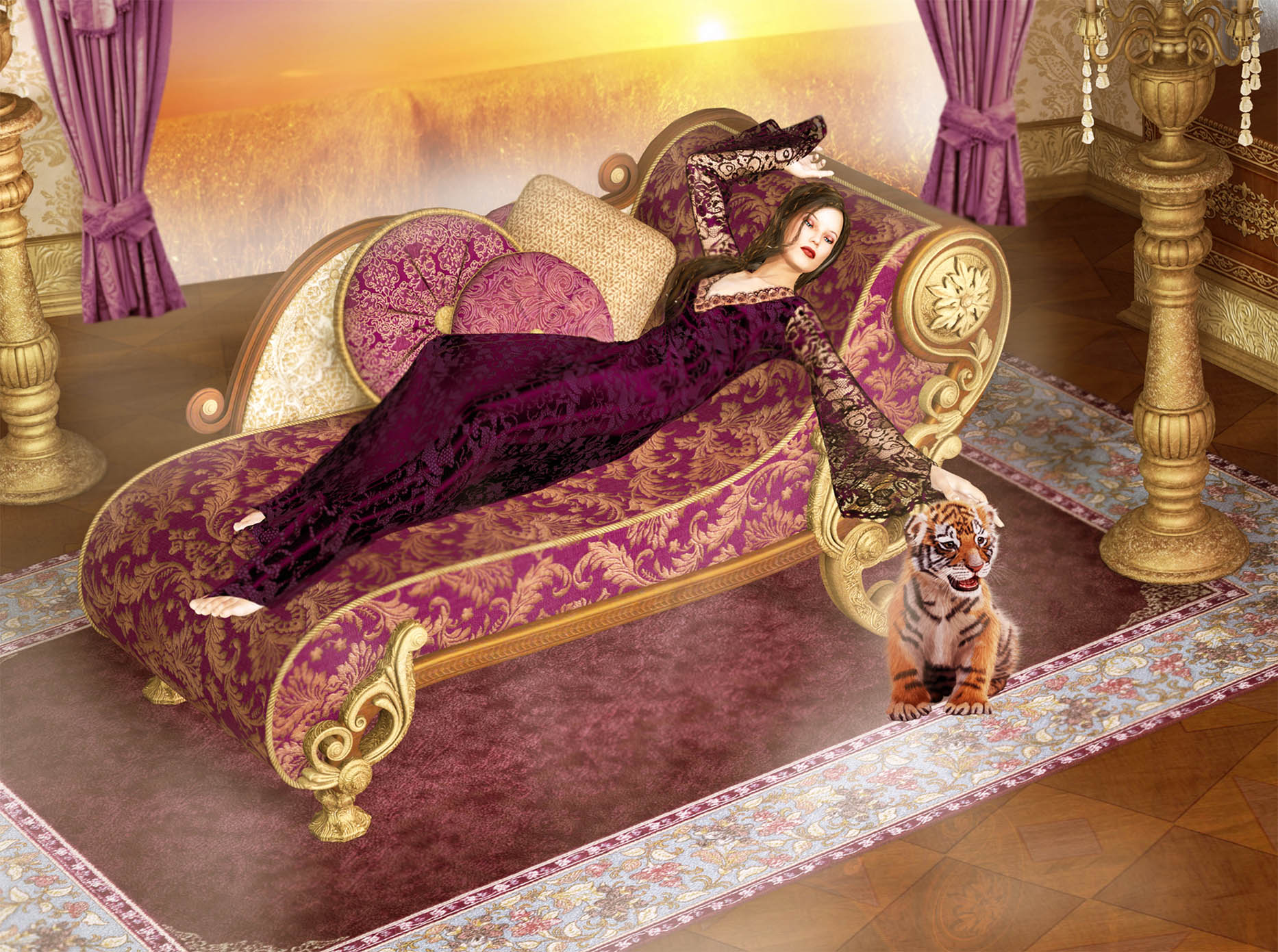 Regally Languid for all February Born!