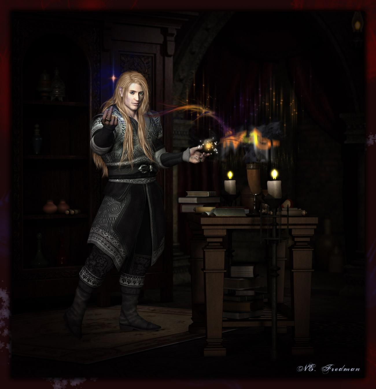 Mage's Research:  Ariolas Maharasen