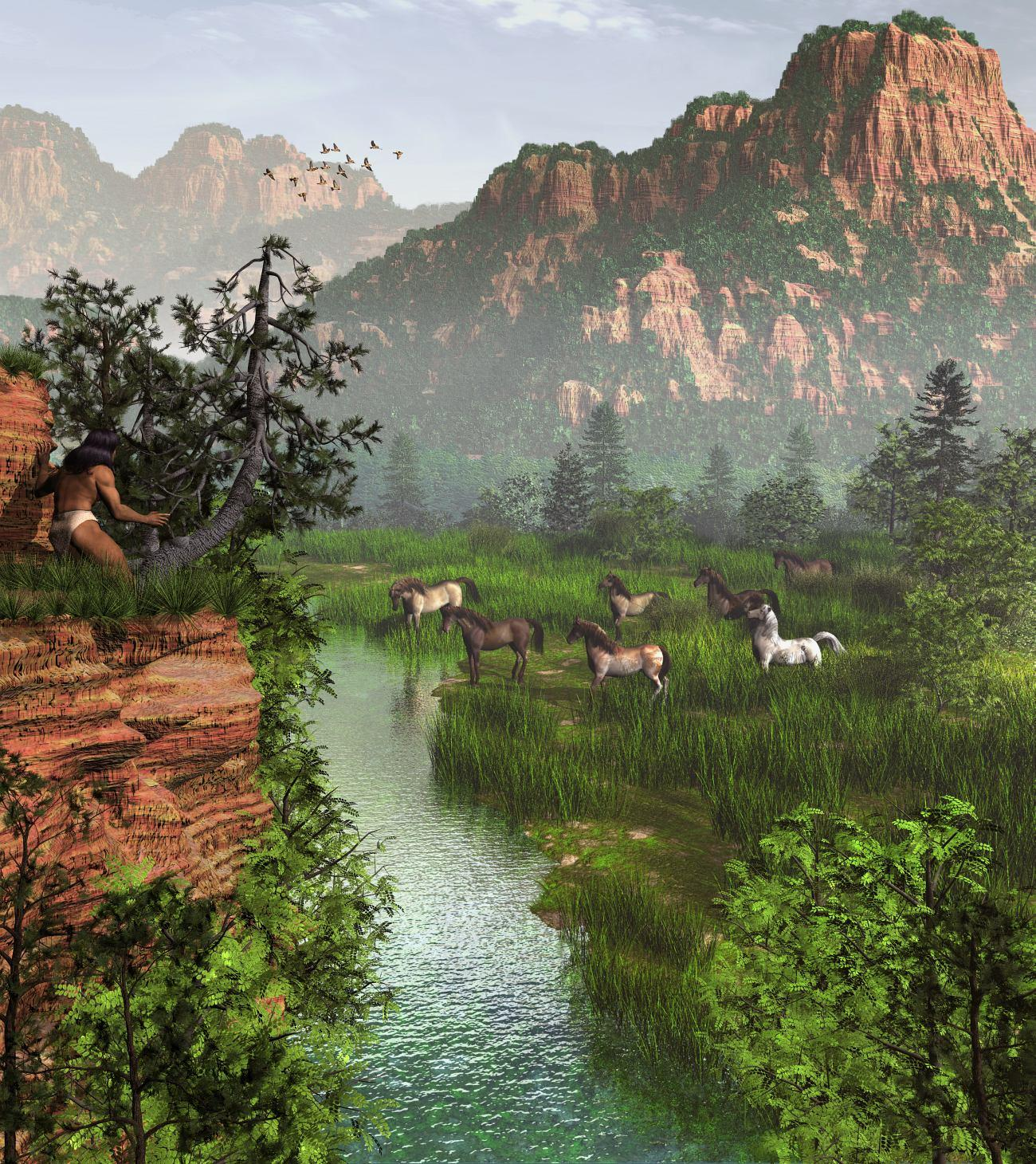 Valley of the Wild Horses