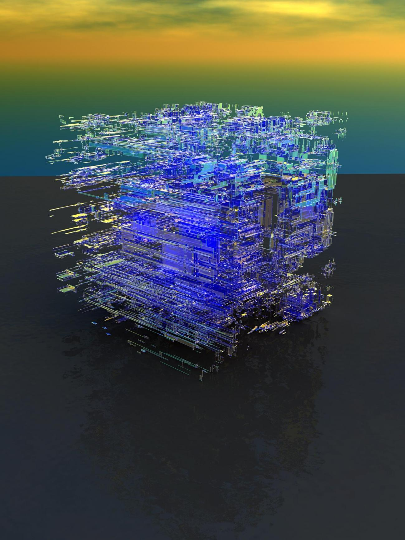 VoxelStack Experiment 9h by Luc2