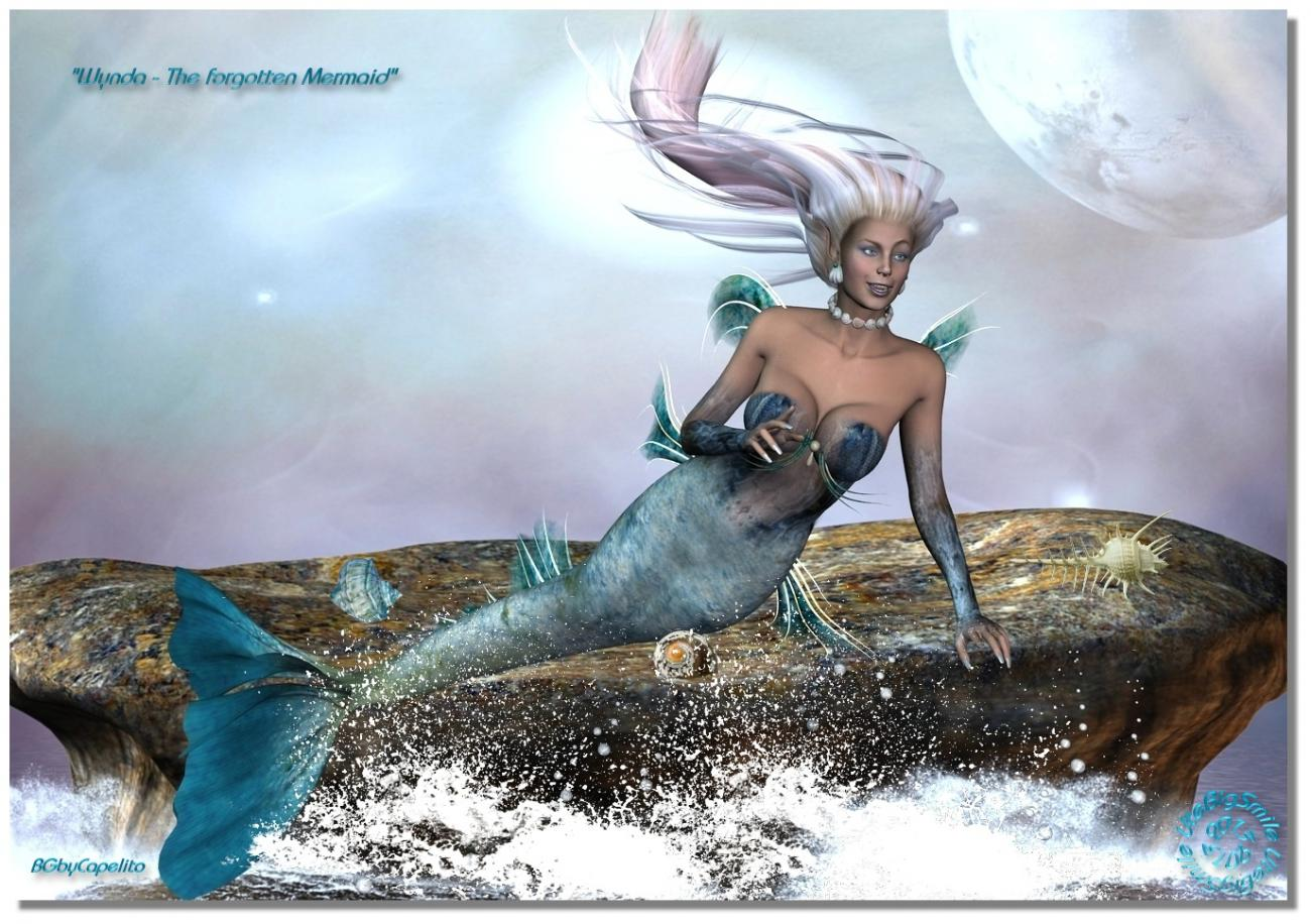 Wynda - The forgotten Mermaid (for Margenal)