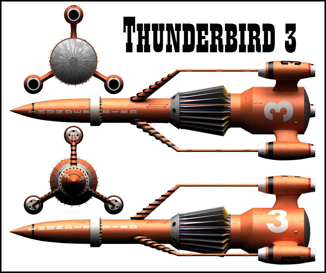 Thunderbird 3 Ortho Set