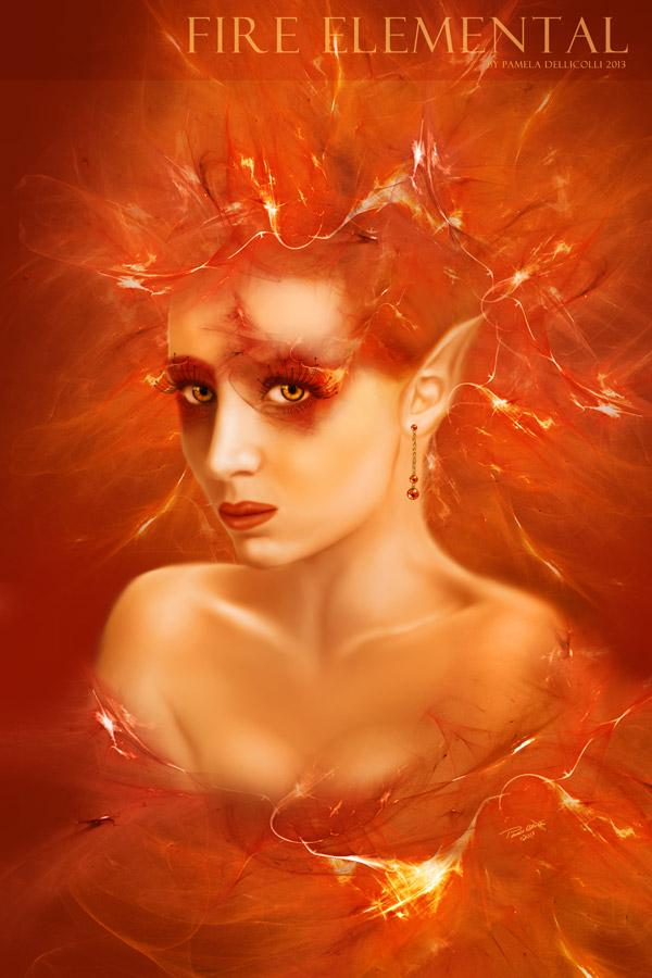 Fire Elemental (Portrait)