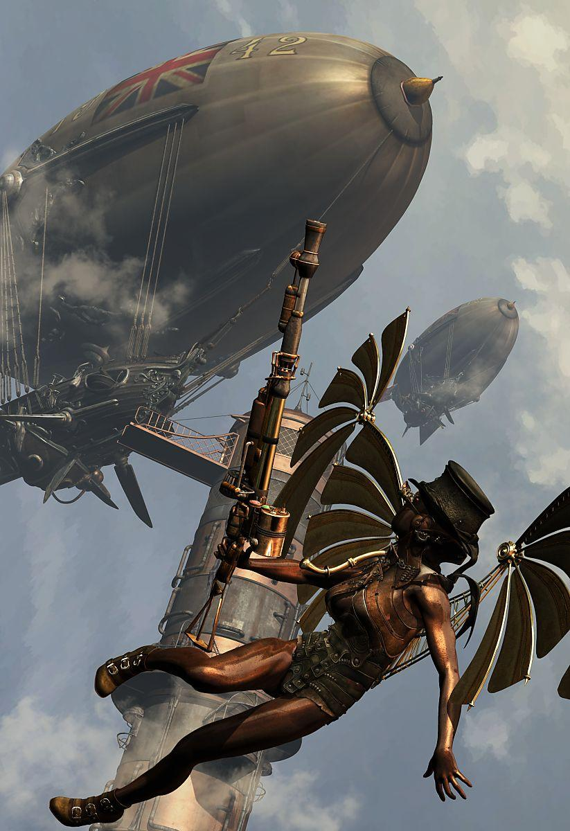 Steampunk:The Warlords of the Air