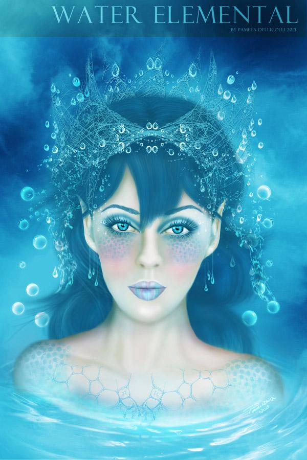 Water Elemental (Portrait)