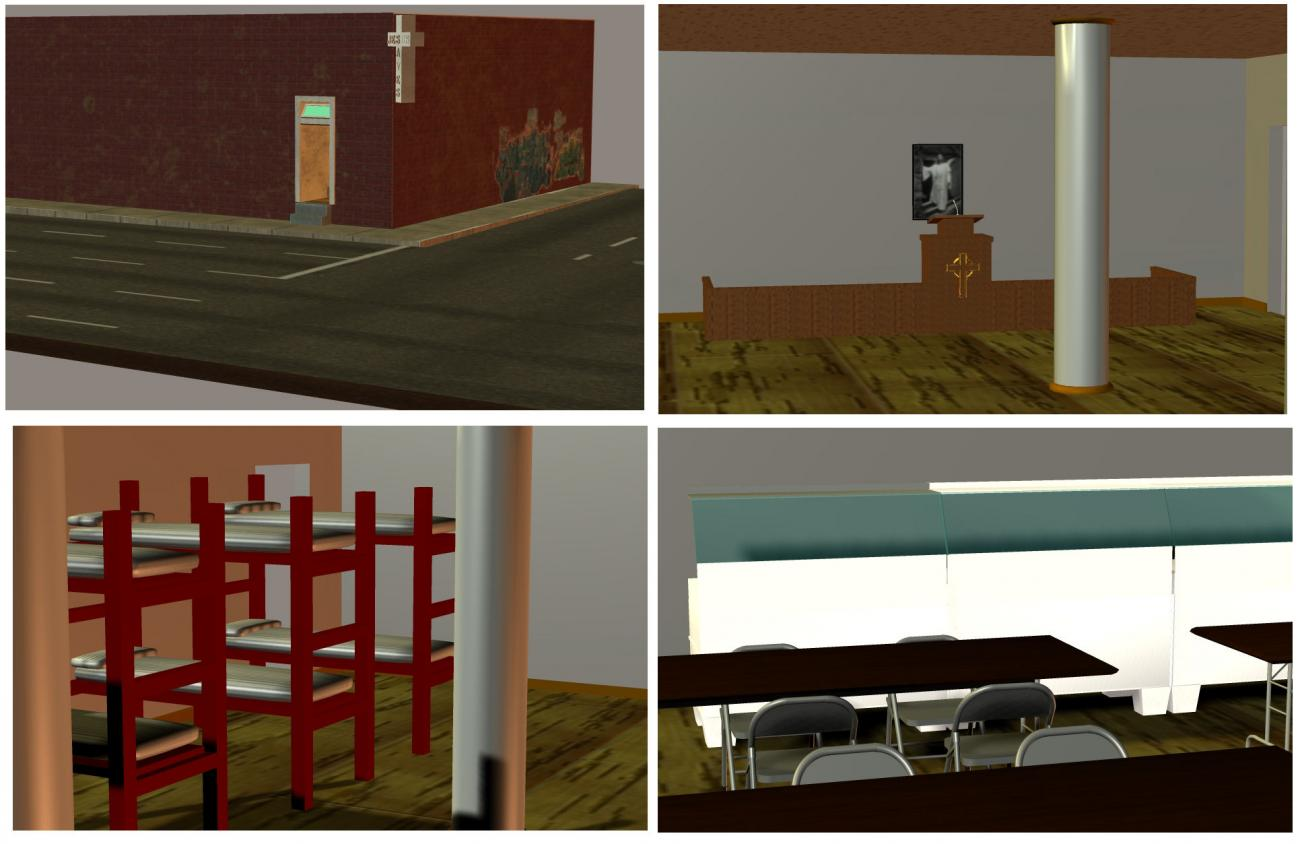 Homeless Shelter Set