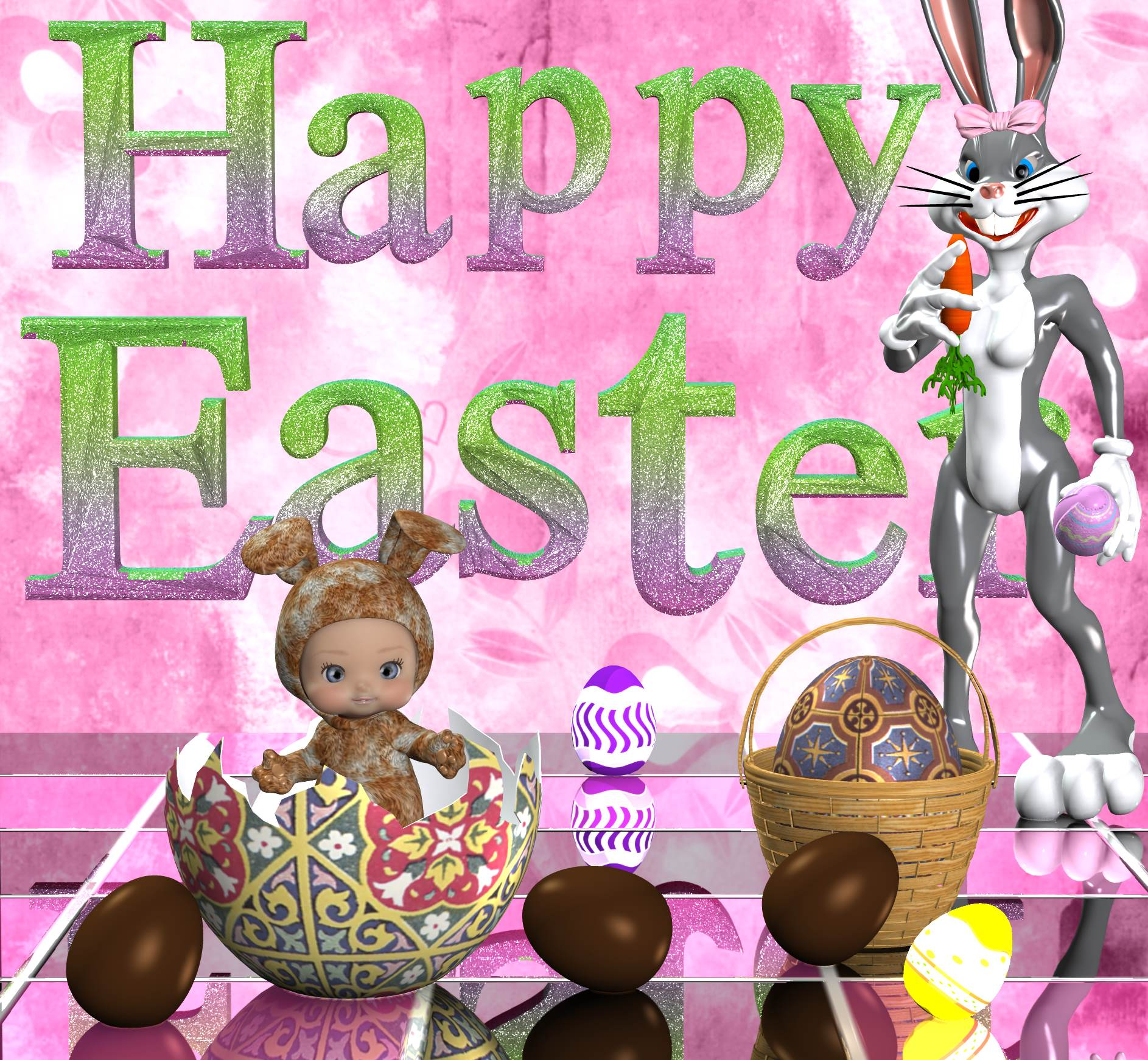 Happy Easter for my friends