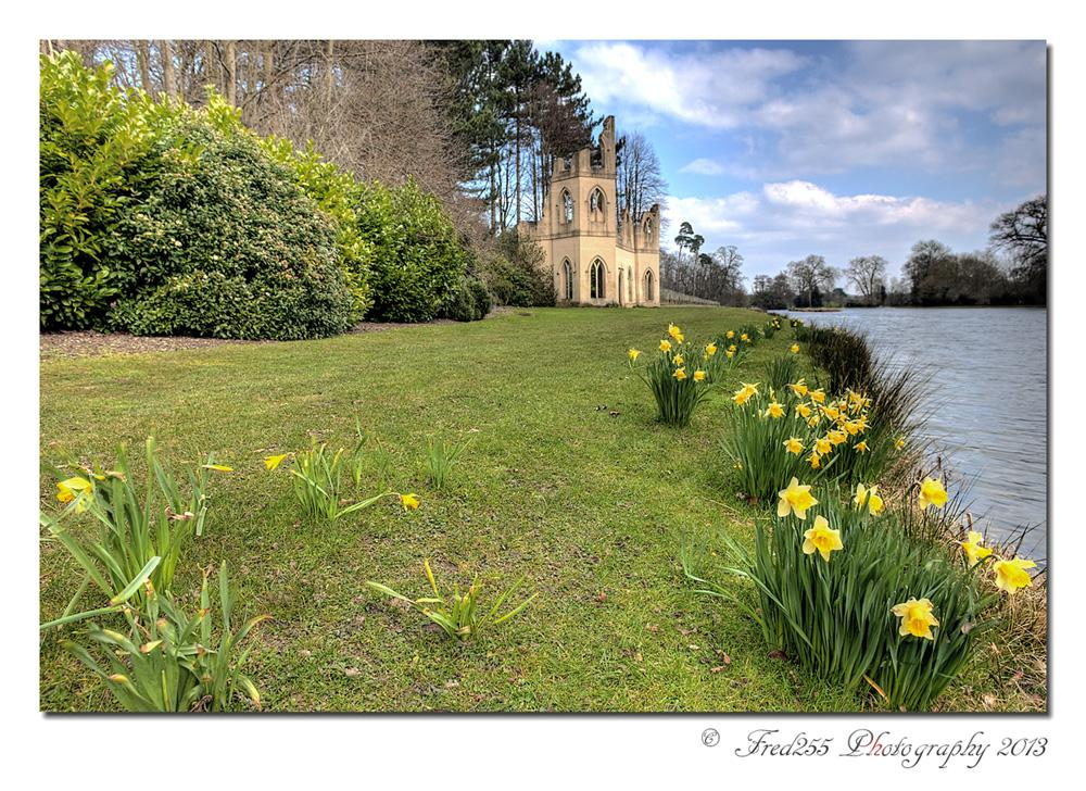 Spring time at  Painshill