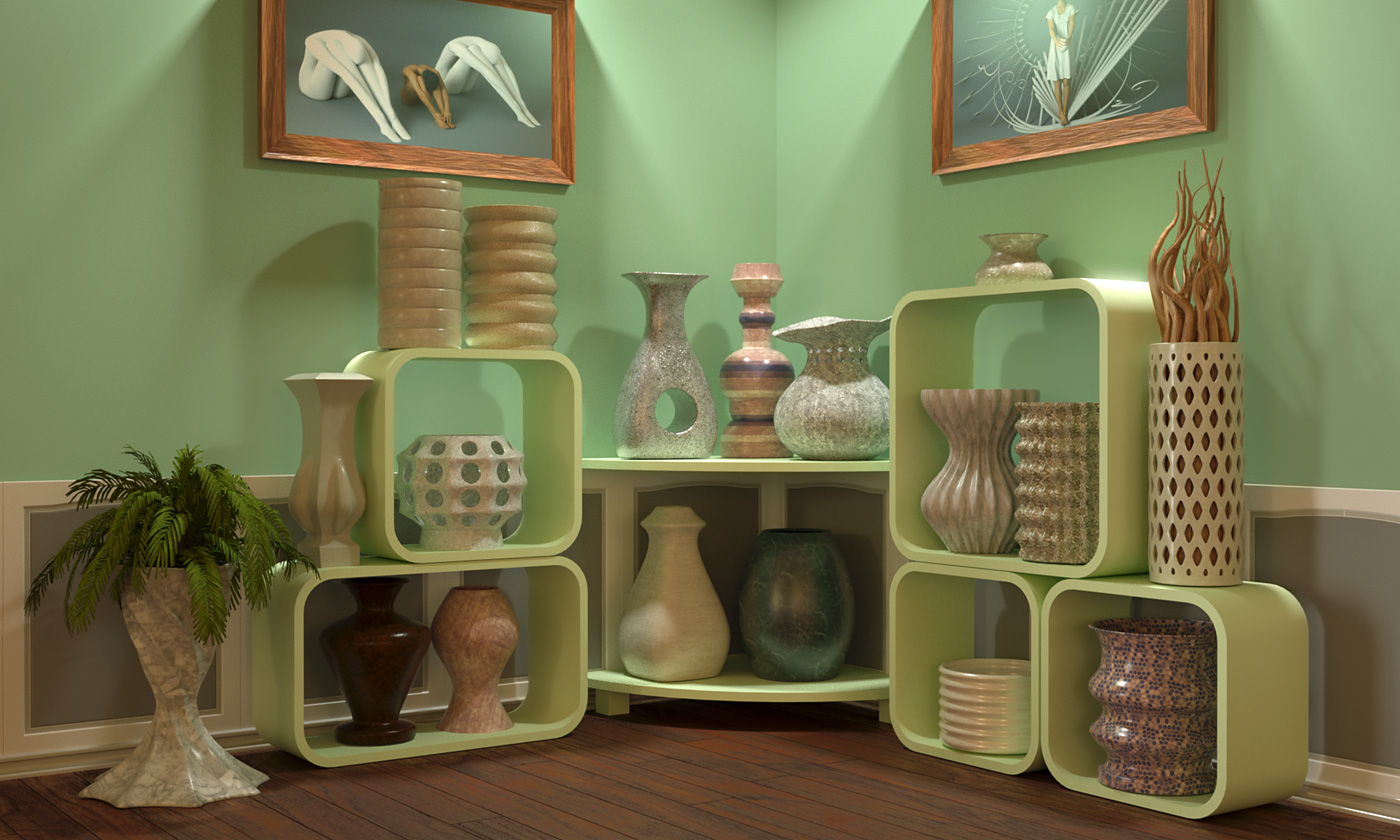 Exotic Vase Collection, Vol. 01