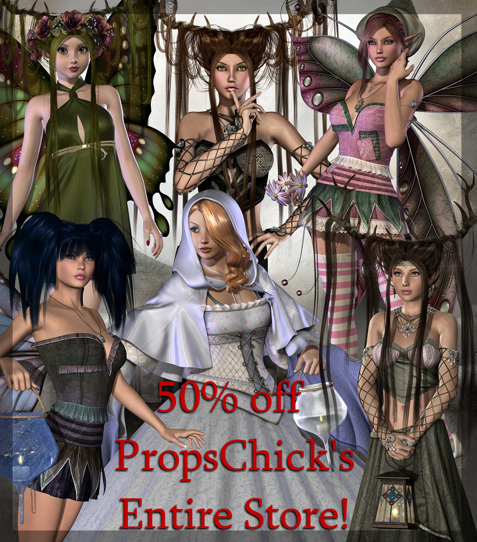 PropsChick's Entire Store 50% off!