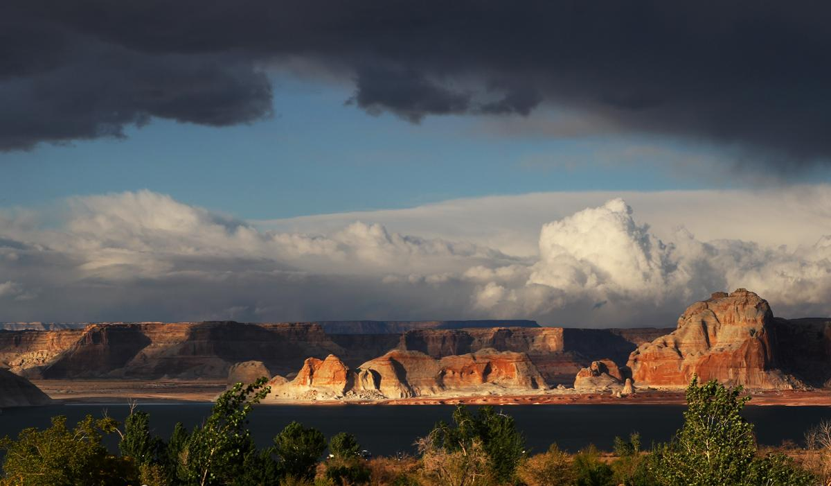 Lake Powell:  Stormy Weather