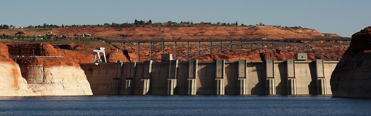 The Short Side of Glen Canyon Dam
