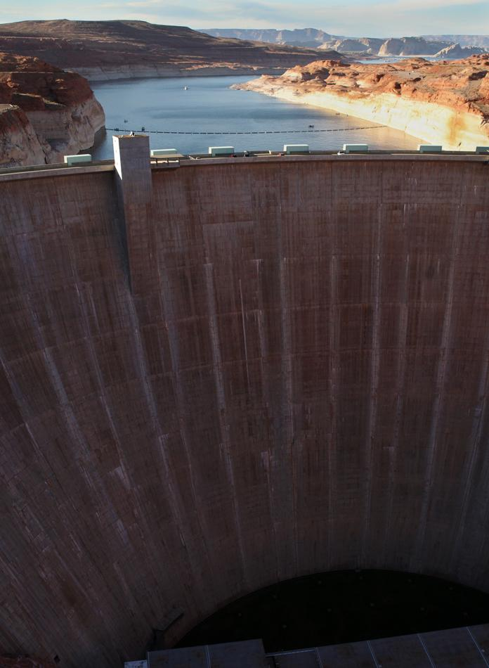 The Tall Side of Glen Canyon Dam