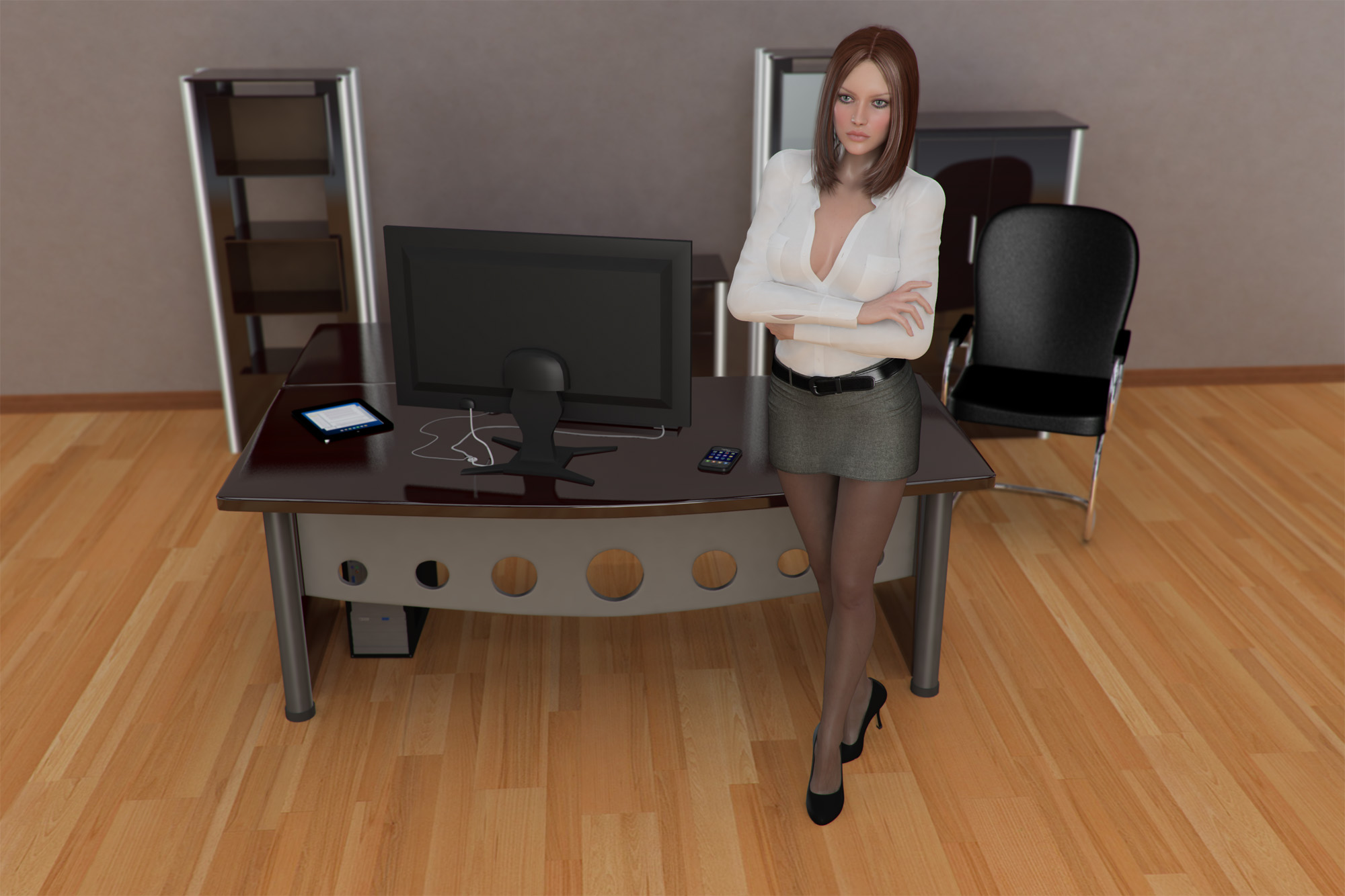 Office girl gallery