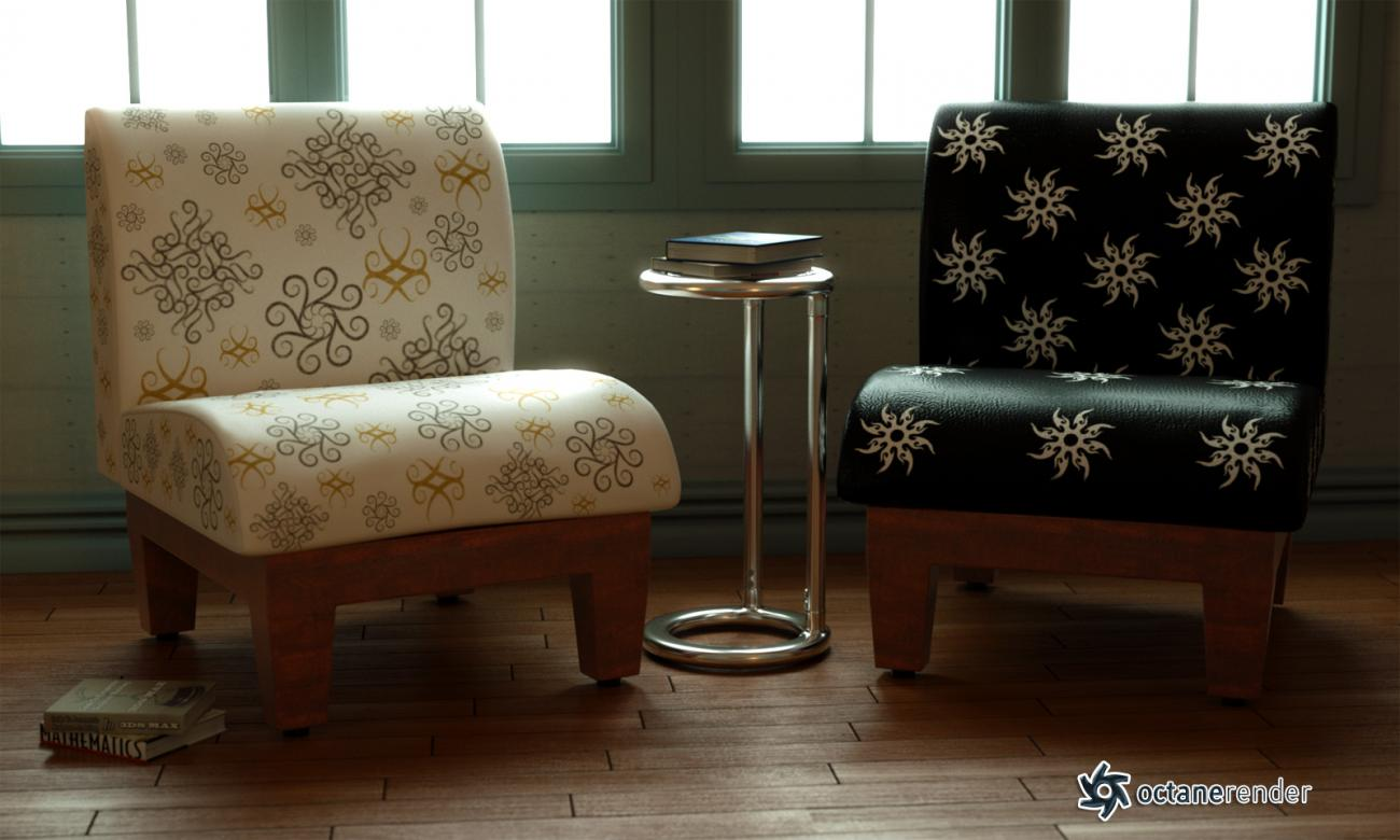 Free Realistic Slipper Chair