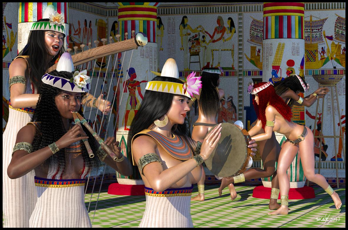 Egyptian entertainment